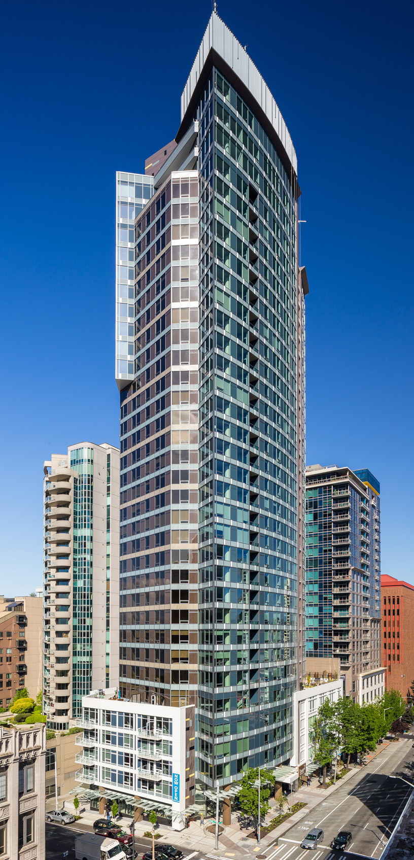 Tower 12 Apartments  314 Units — Downtown Seattle  Completed 2017