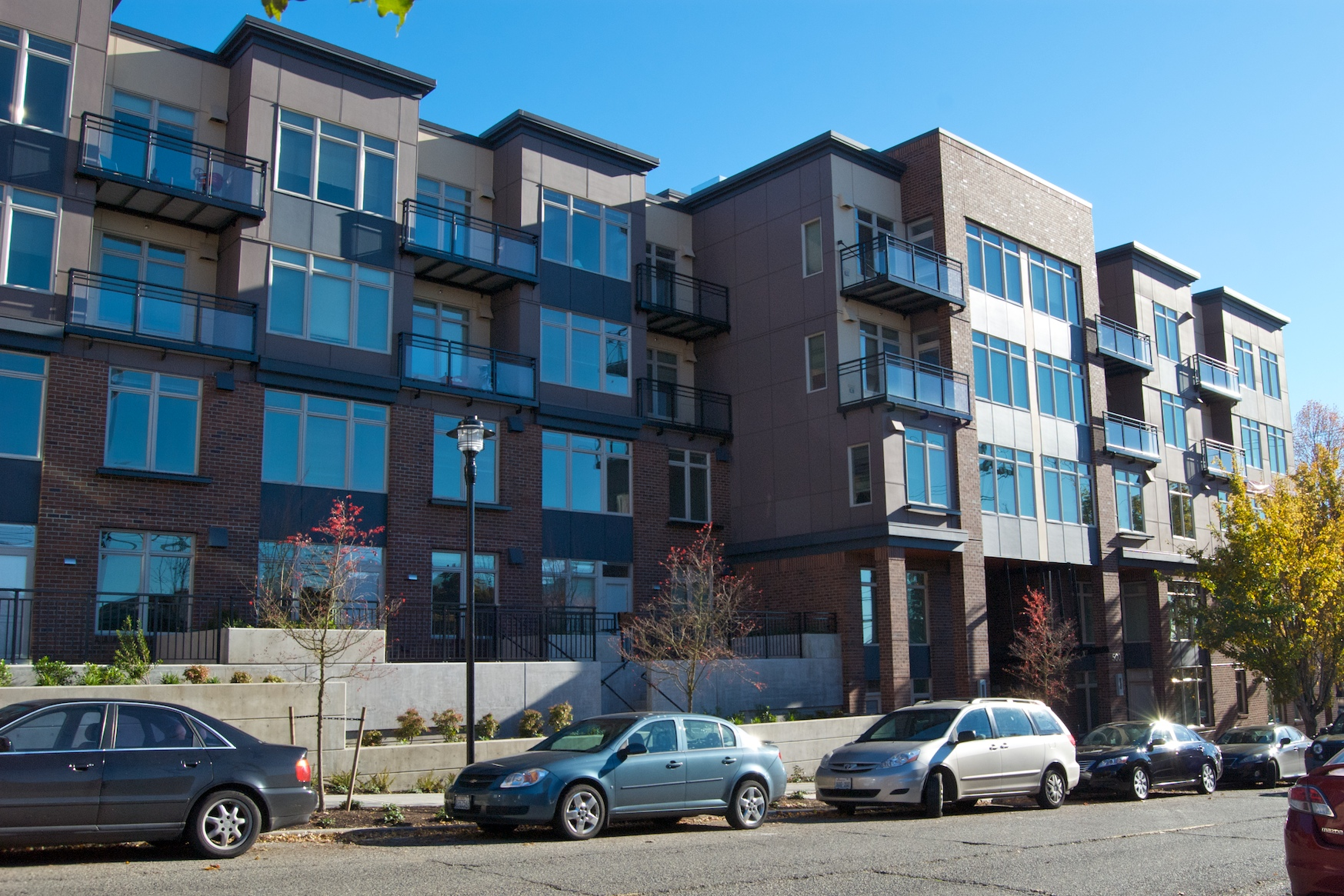 Jax Apartments  76 Units — Queen Anne  Completed 2014