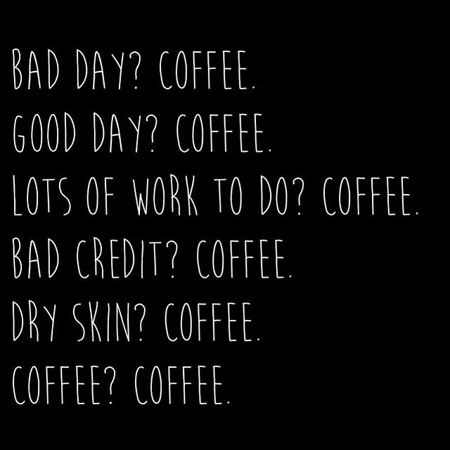 Coffee really is the answer to most problems ☕️ #coffeeiskey #braveryblends #brewforthebrave #coffeesolveseverything