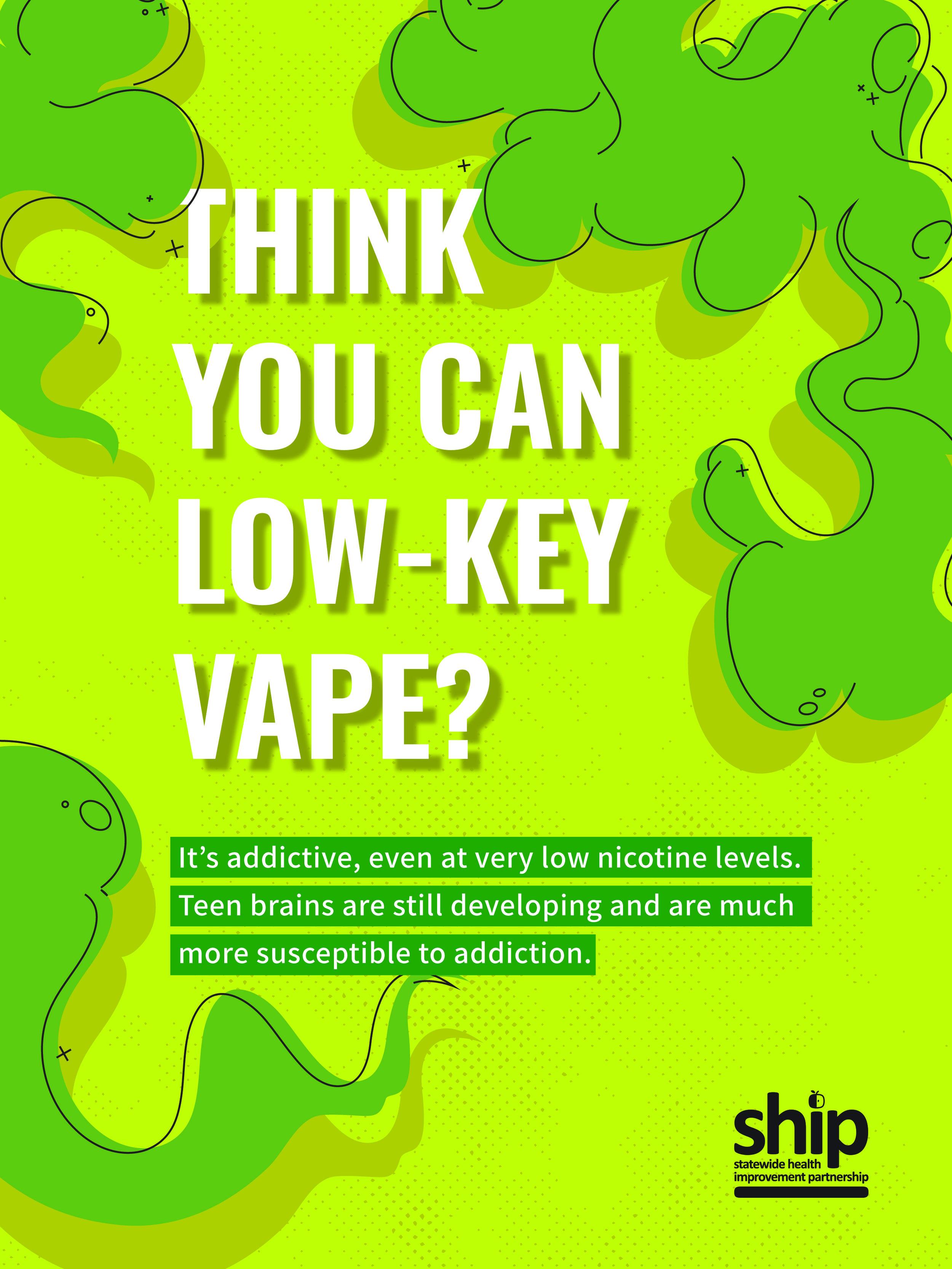 Green Vape Poster