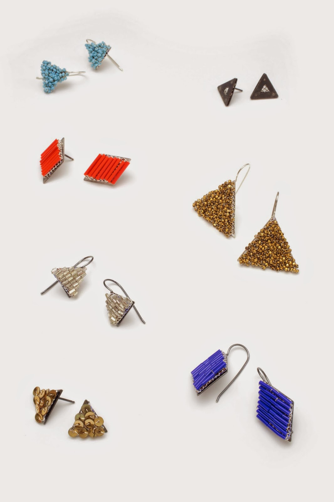 Miscellaneous earrings; photo by tiny jeweler photography