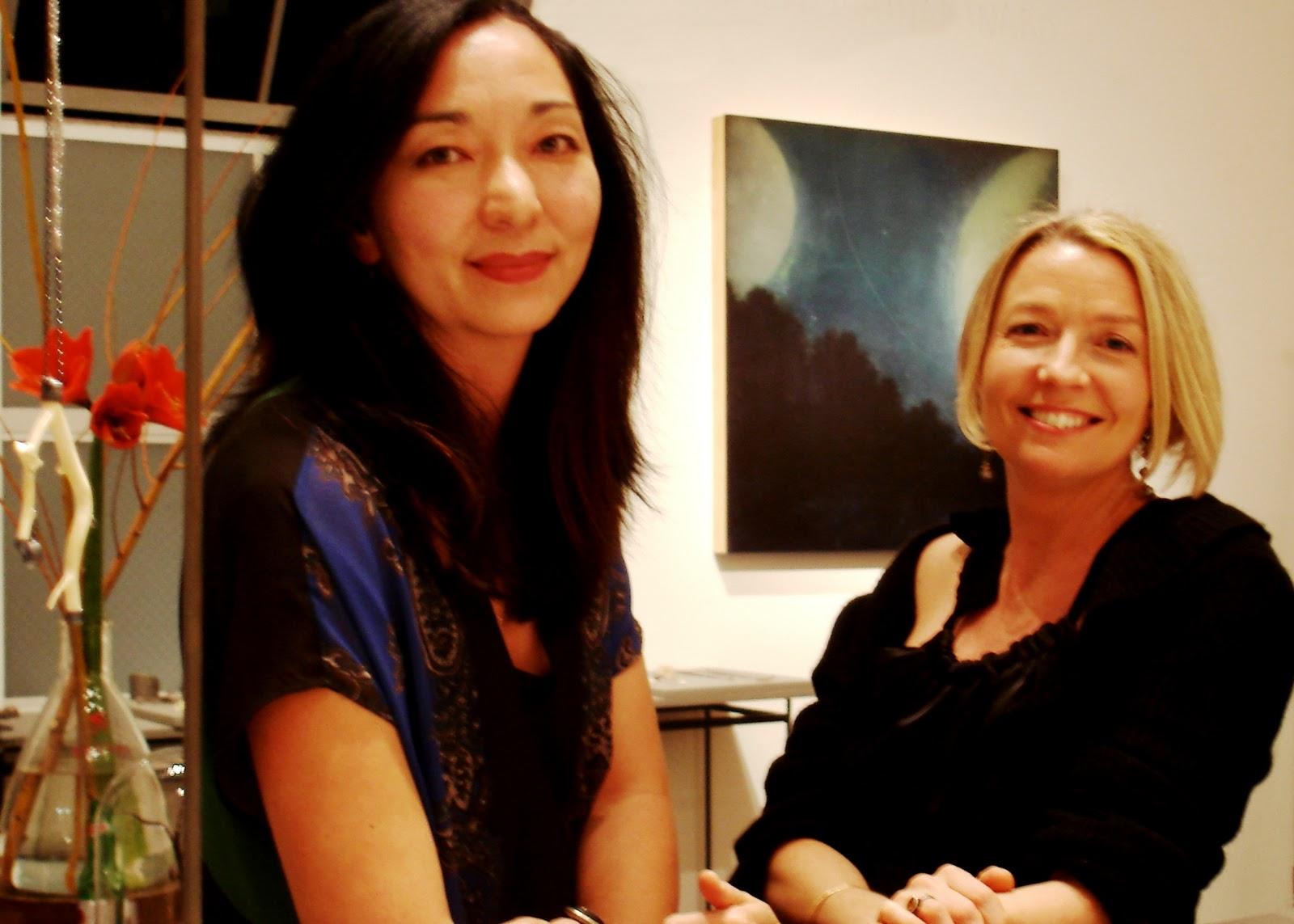 April Higashi + Aondrea Maynard, November 2011