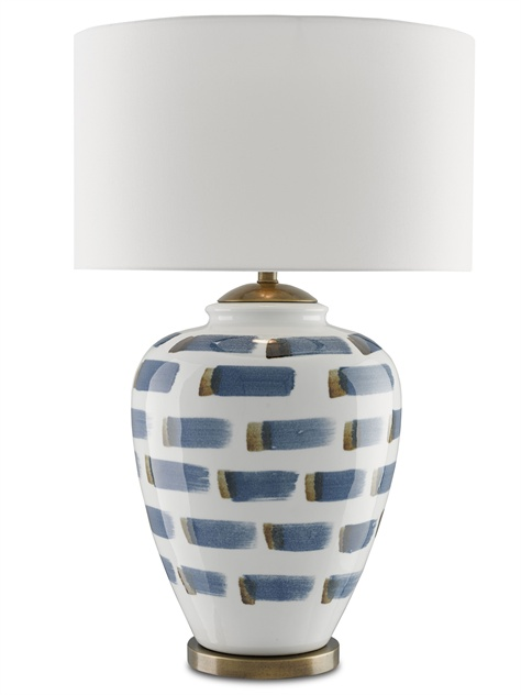 Brush Stroke Table Lamp