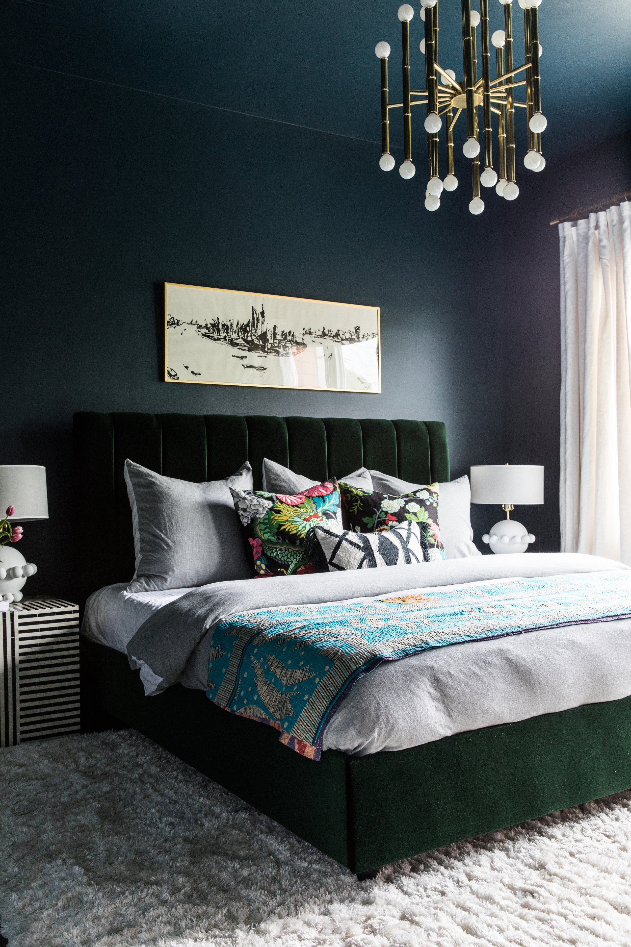 Bedroom Makeover Reveal B H Remodel Bedroom Design Your Bedroom Bedroom Green