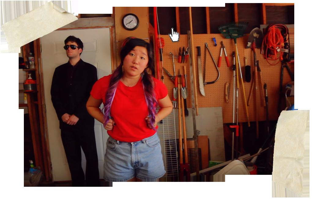 Still from The Suspenders Present: Francesca the Mafiosa (written by Miya Kodama)