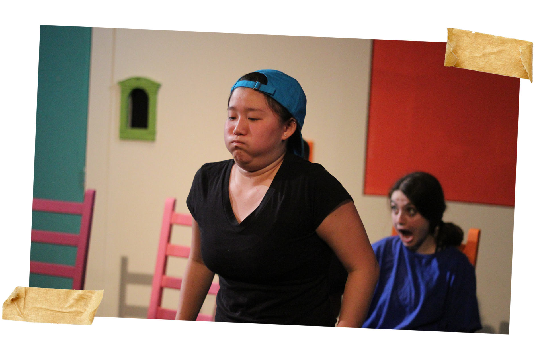 Miya as Joaquin in The Suspenders Present: Debauchery Drive (A Full Length Sketch Show)
