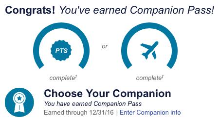 Companion Pass