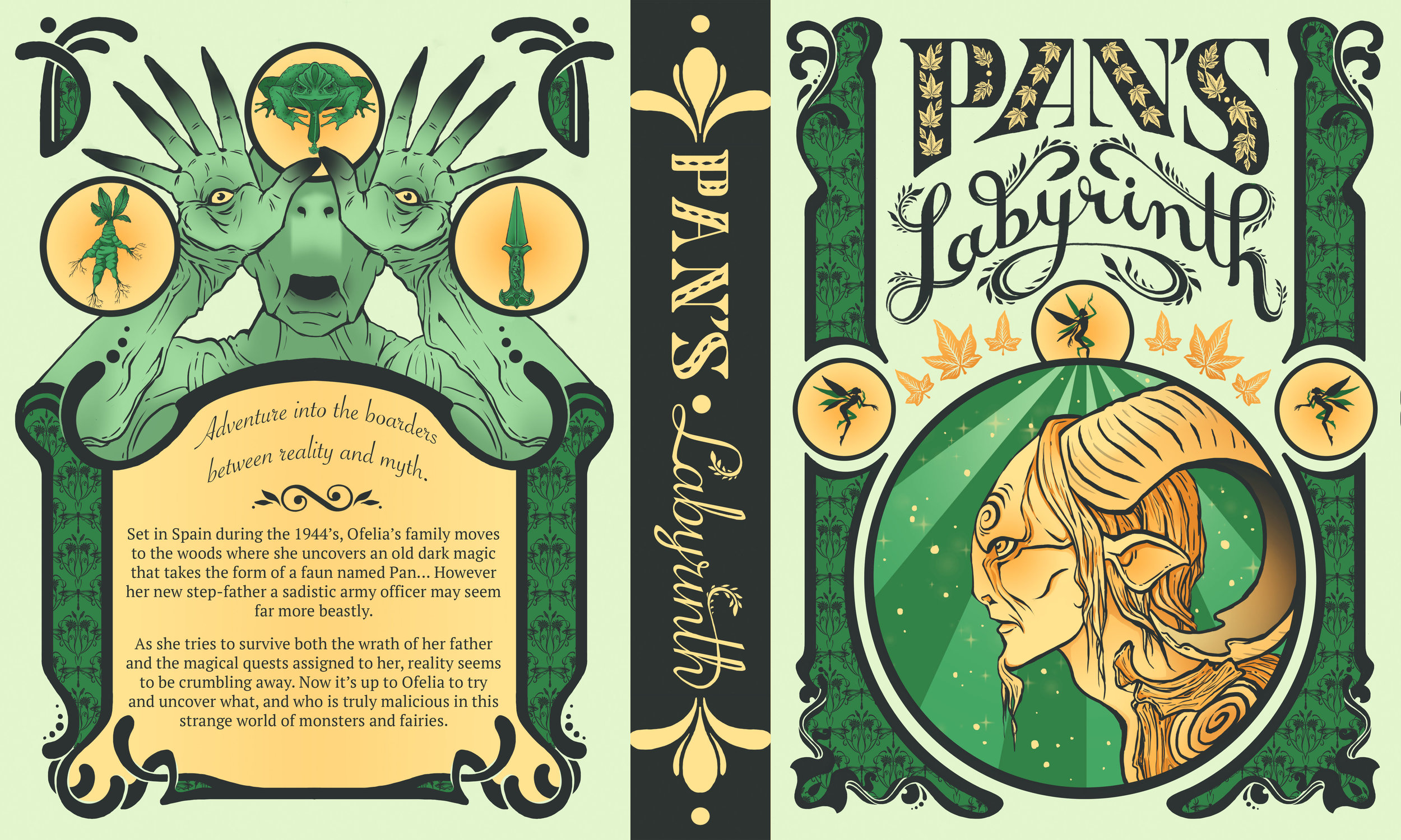 Pan's Labyrinth Book Cover