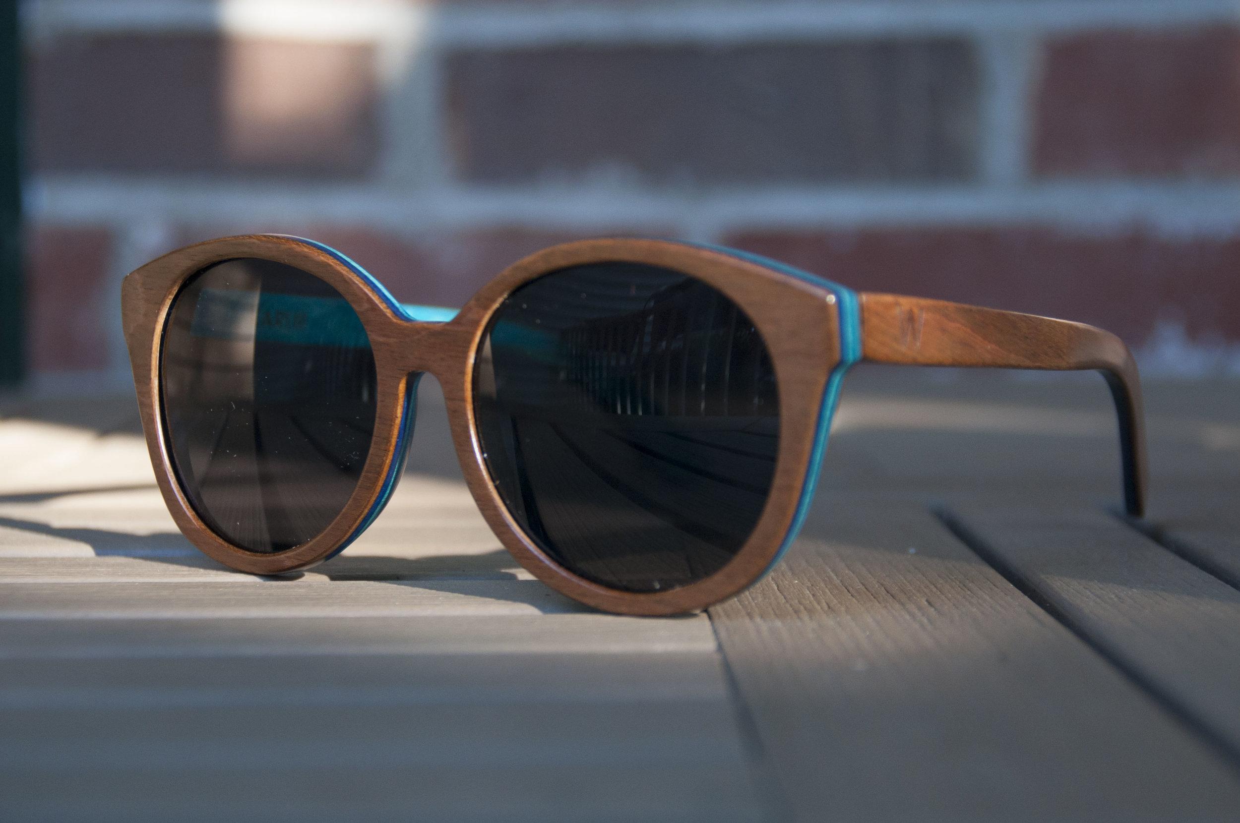 Karlie sunglasses from Woodzee