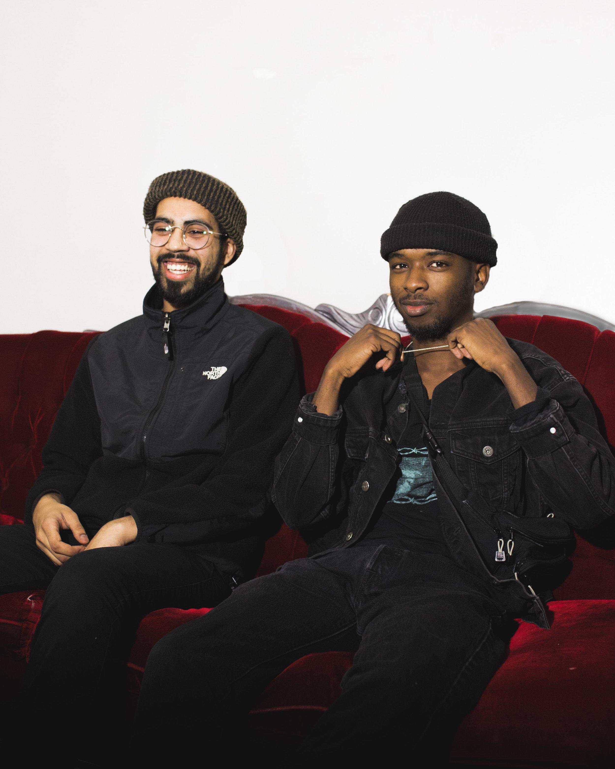 Abdullah (left) & Kafayé (right). Photo by @_kevinfall.