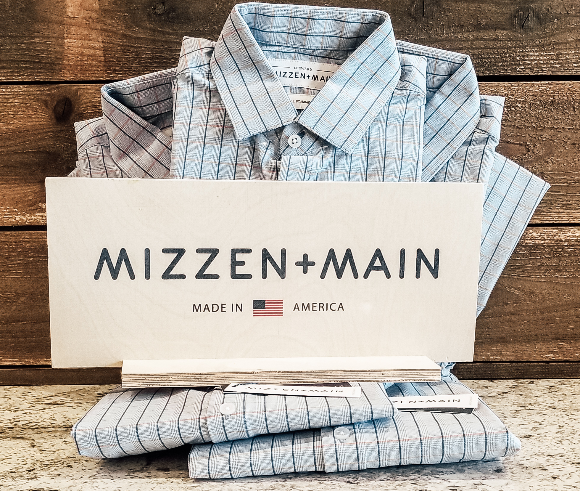 New Mizzen + Main colors and patterns are arriving for the new season.