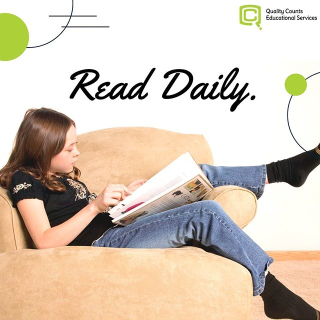 Summers can be busy. To prepare for the upcoming school year, or to simply encourage the habit of reading, schedule Daily Reading into your day. 📅  Begin by reading a book together, or by having your child read aloud. For more advanced readers, begin by scheduling a 15 - 30 minute time block for reading and to talk about what was read. ⏱  Two keys: 📚Find a book that appeals to the reader. 📆 Be consistent by reading everyday.  ~~~~~~~~~~  In need of more academic preparation? That's what we're here for.   Quality Counts offers lessons of Private Academic Instruction during the summer! With lessons catered to the child's interests and focused on the subject area(s) in which your child needs additional support, your child learns how to conquer tough topics, and progresses confidently into the new school year.   🗓Schedule your free lesson today by visiting our website.  #dailyreading #pgcpsstudents #pgcpsteachers #pgcps #pgchildren #pgcfamilies #pgschools #dmvfamilies #mdfamilies #dmvfamily #dmvschools #dmvreads #pgcsummer #summerreading #pgcmls #mdlibraries #dmvmoms #pgcmoms #pgmoms #pgparents #pgckids #mdkids #mdreads #mdcamps #dmvcamps #mdtutor #dmvtutor #mdlearning #pgtutor #pgkids