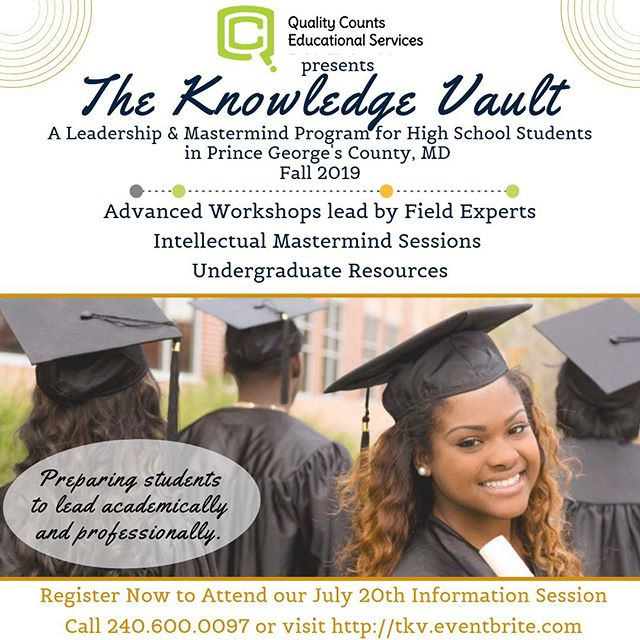 High school students, gaining new perspectives, learning how to intellectually discuss relevant topics, and preparing now to successfully lead academically and professionally in their lives. This is The Knowledge Vault.  Workshop Topics: - Money Management - Undergraduate College Resources - Discovering Your Perfect Career Path - Entrepreneurship - Mental Health Awareness - Diversity in Leadership - & More  Haven't reserved your seat yet? - Reserve yours today by clicking the link in our profile.            #dmvfamilyfun #largomd #lakearborjazz #lakearborjazzfestival #pgcountymd #pgcps #ketteringmd #dmvfamily #dmvmom #marylandmom #dmvdad #dcmom #dmvmomtribe #dmvdancers #dmvevents #dmvfamilies #pgcpsbts #pgcmoms #pgcounty #md #dcfamily #mdeducation #pgcountyschools #mdleadership #dcevents #pgcmls #sixflagsamerica #pgcmd #silverspringmd #bowiemd