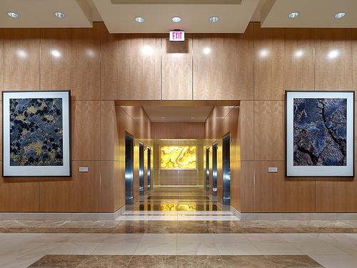 Elevators to 5th Floor
