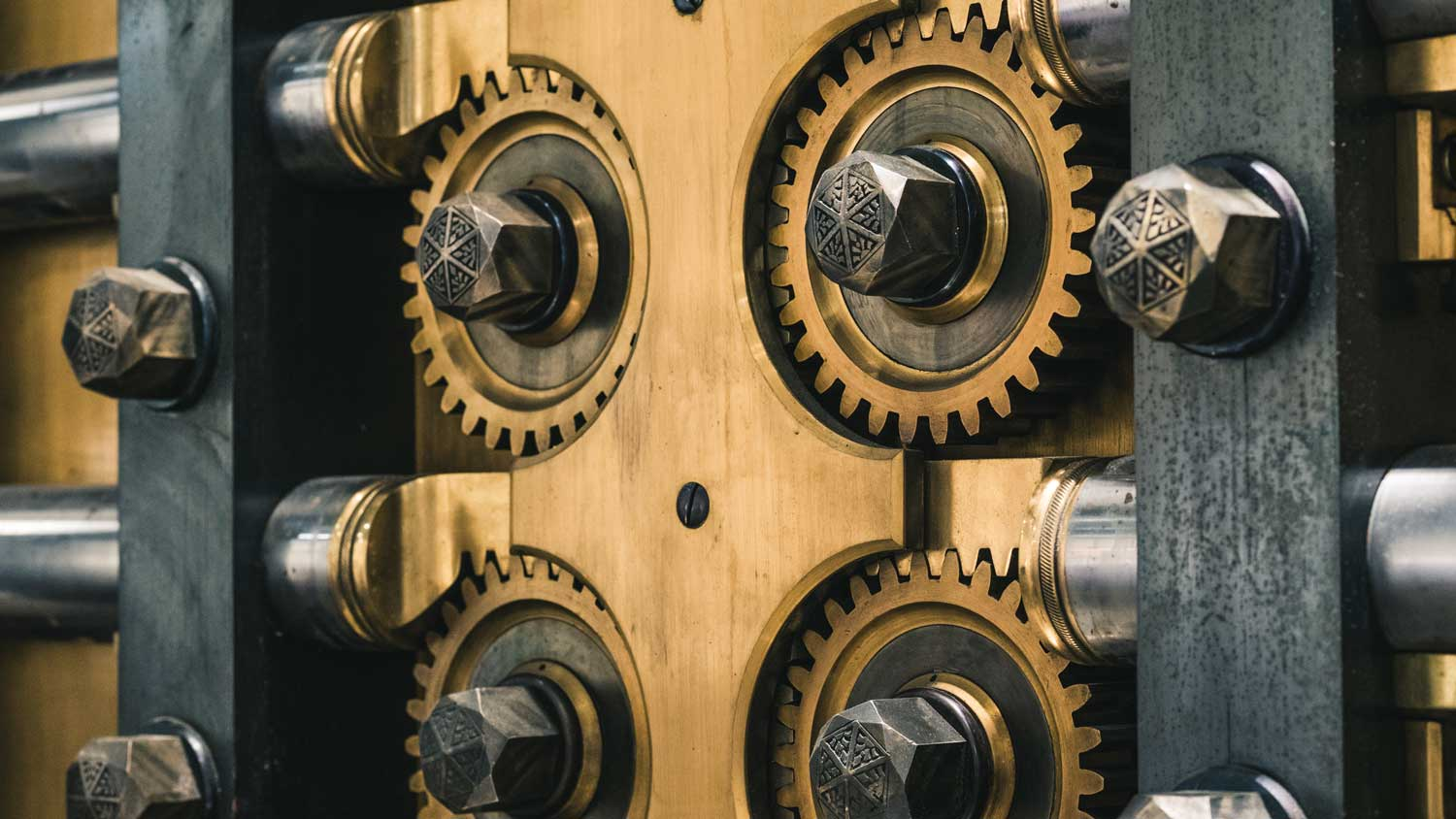 Historic brass and steel bank safe gears.jpg