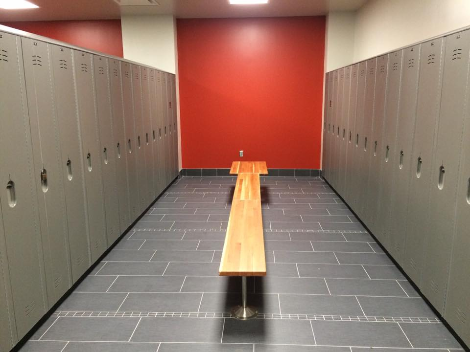Lockers and Locker Benches