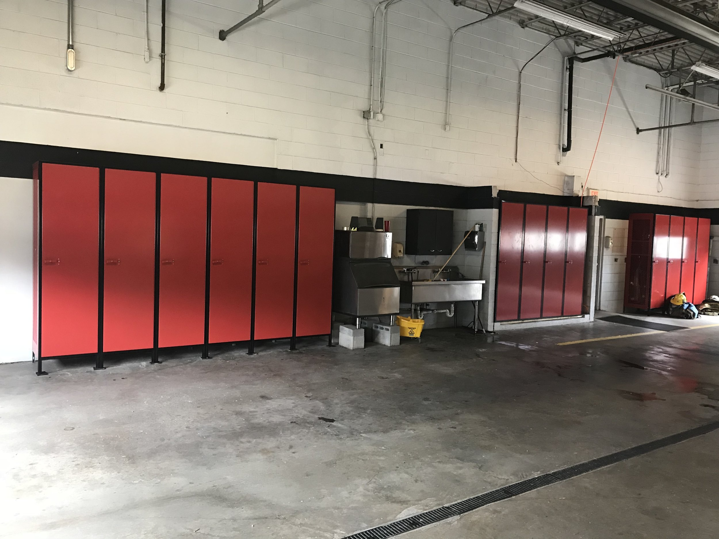 Fire Station Lockers