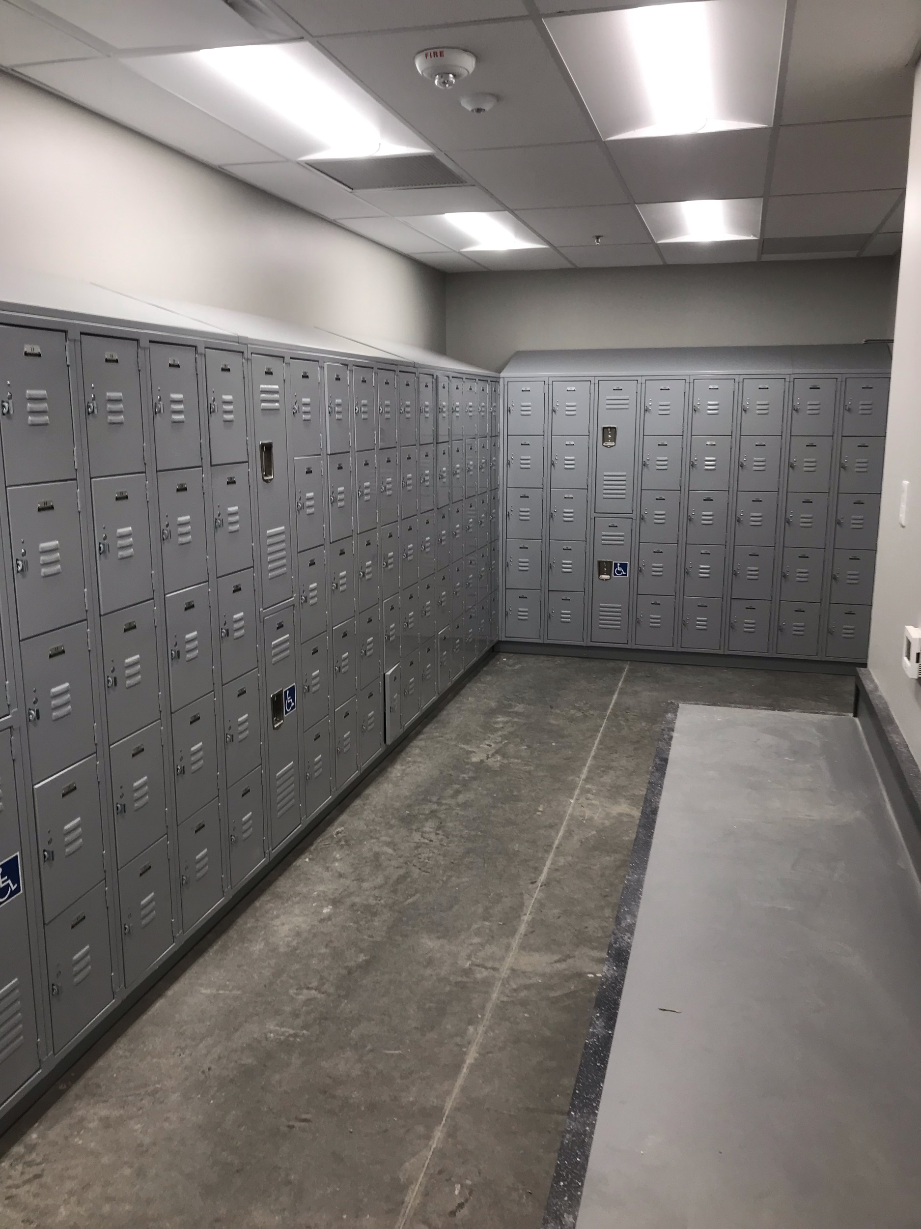 Lockers June 2019