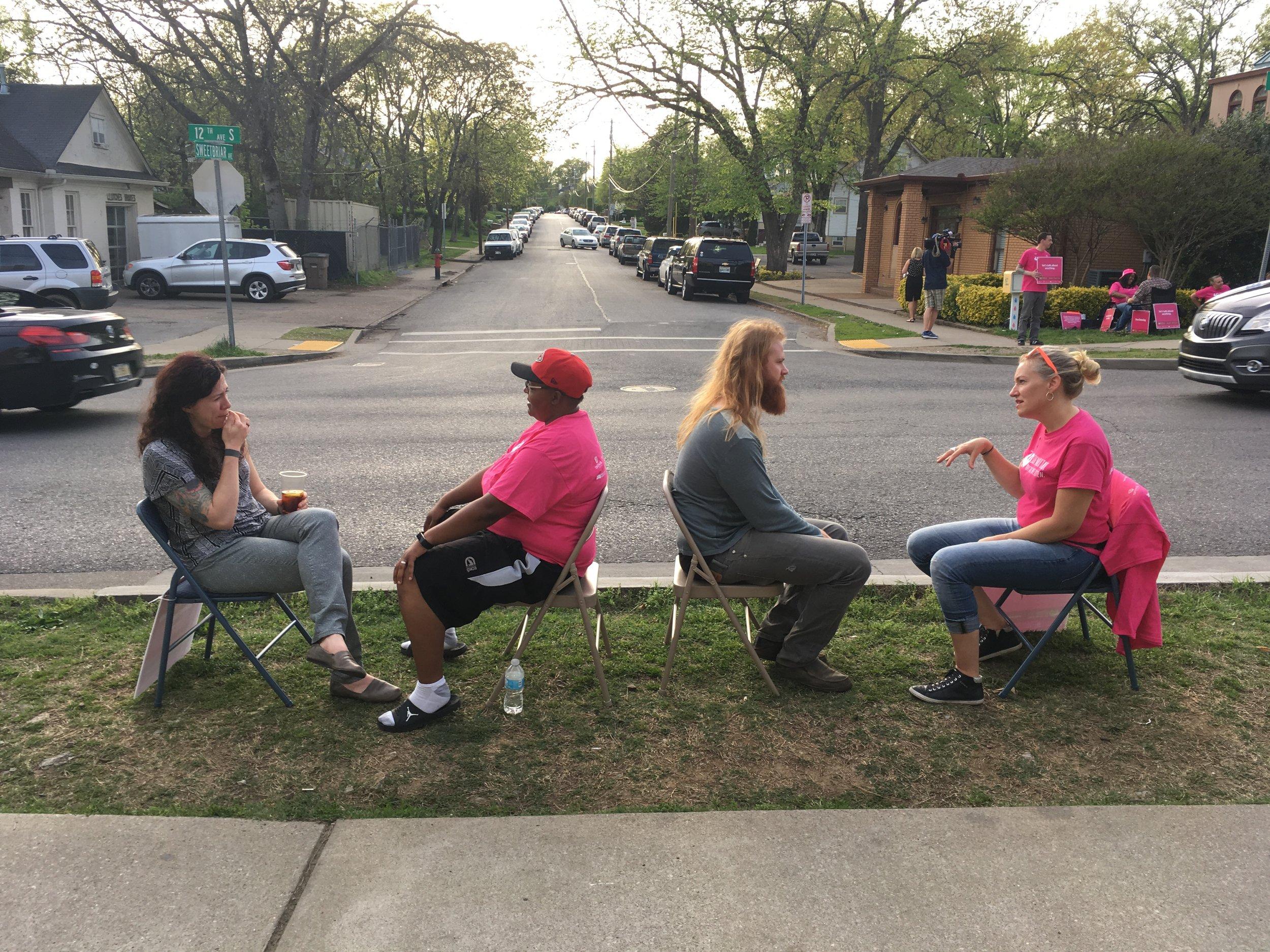 Sidewalk Talk - Radical Connection through empathetic listening on the streets