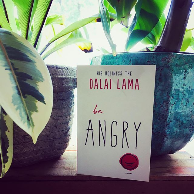 """Anger thst is unrecognized and suppressed will destroy us from the inside out. But there is such a thing as wrathful compassion—an anger that is used not for one's oneself-righteousness but rather seeks to protect others from harm.  In today's world, there is a lot to be angry about: injustice, social and economic inequalities, racism, ignorance.  This little book is here to tell you: 'Be Angry.' Once we can recognize anger—how we hold it, how we manifest it, how we act upon it—then we can transform that anger to compassionate action. Only then can we bring love, peace and healing to the world."" — Dalai Lama, Be Angry ✨🔥🔥🔥✨ #dalailama #beangry #compassion"