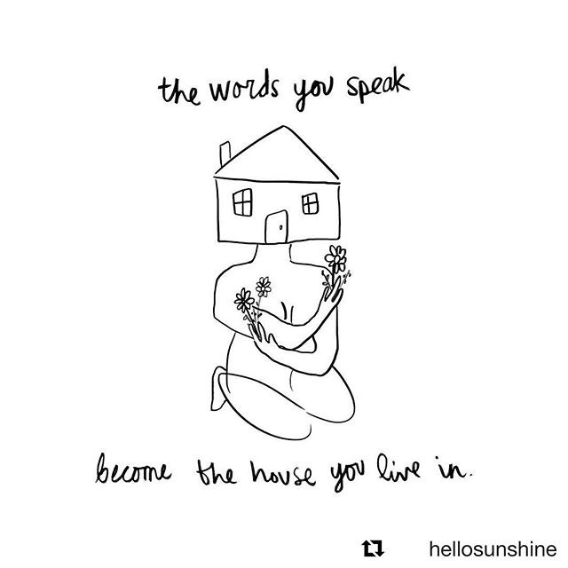 💗😘 #Repost @hellosunshine ・・・ Be kind to yourself 💕