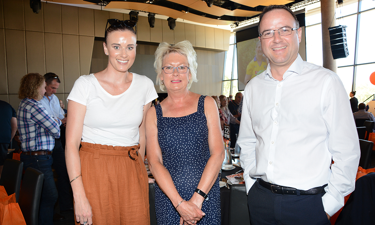 Alison Surjan, Ros Agate & Jason Barrington.  Photo from InDaily .