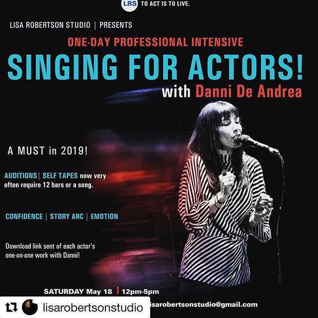 "❤️ looking forward to being a part of this thank you @lisa_robertson16 for having me! ❤️❤️❤️❤️❤️❤️❤️❤️❤️ #Repost @lisarobertsonstudio with @get_repost ・・・ Actors! A MUST in 2019! Every week, I'm shooting self-tapes for major series and films that are requiring 12 bars of a song from each actor. Reps are excited for ""cross-over"" and more and more, I'm seeing 12 bars included in actor's materials their reps send me who they've signed! It's not about "" perfection"" - this trend is growing - Actors need confidence 