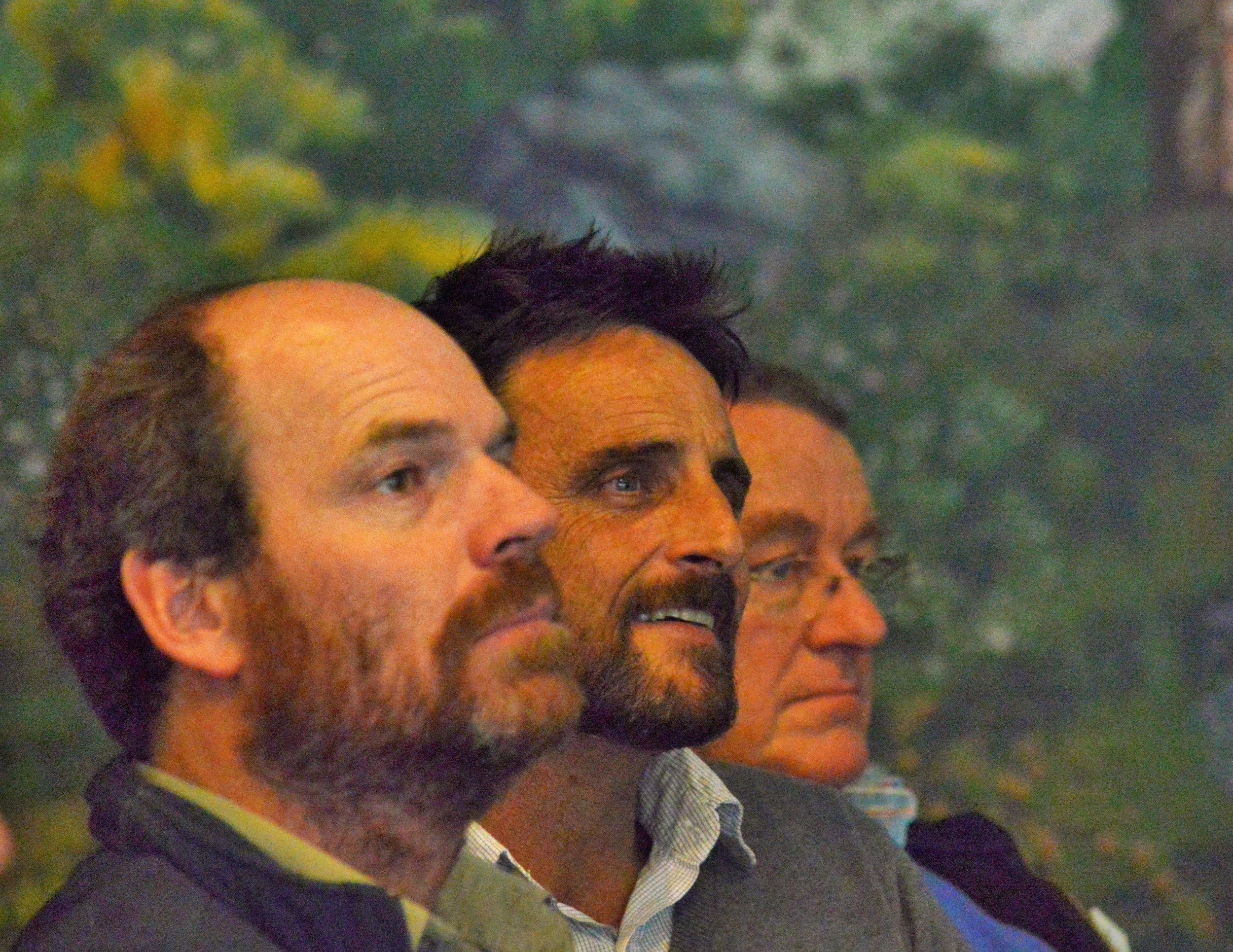 The Trust for Nature contingent - Adam Merrick, Adam Blake and Max Irvin