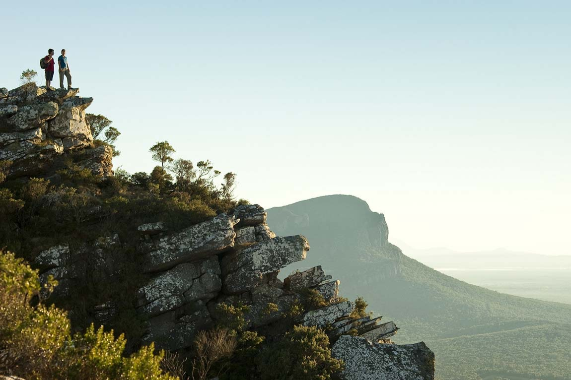 Grampians and Pyrenees Ranges - An inspirational regional landscape collaboration with the vision of creating 'a healthy and connected landscape between the Grampians (Gariwerd) and Pyrenees that supports our people and our biodiversity'.