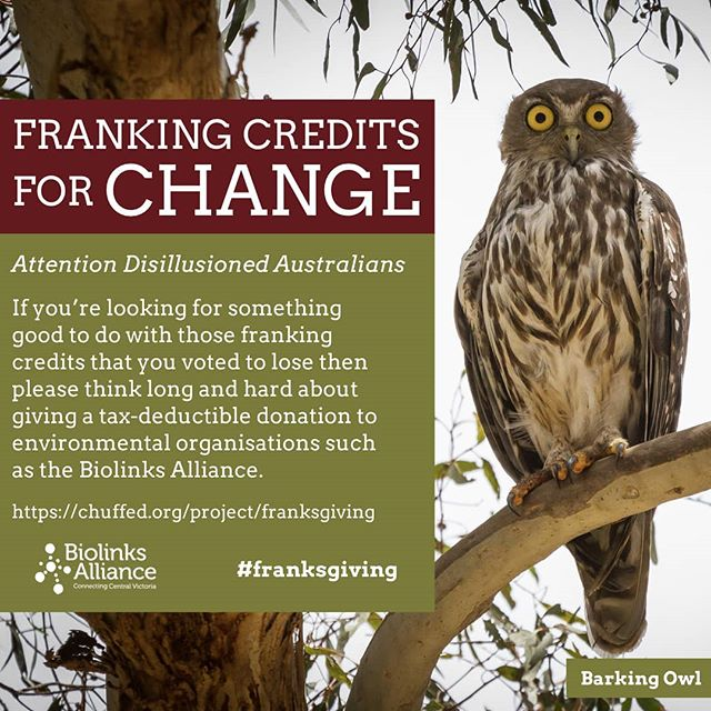 We at the Alliance are all about the power and the importance of grass roots action. If you to feel that it's important to get on with it, even if the Government isn't helping, here's one really practical way you can. Check out and old share our first crowd funding campaign. #franksgiving