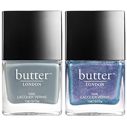 london butter nails, something blue, lady muck