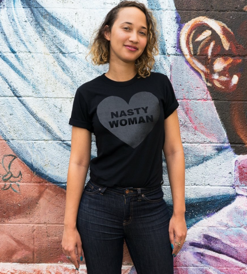 All Black Nasty Woman Tee