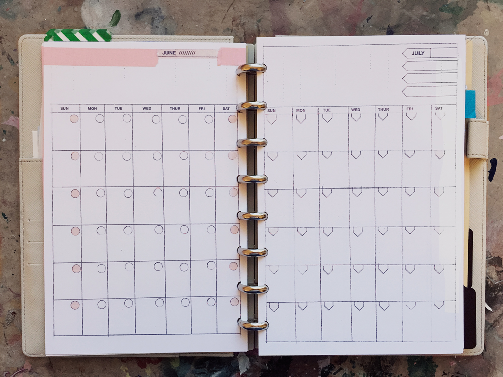 Time to add all the due dates in!