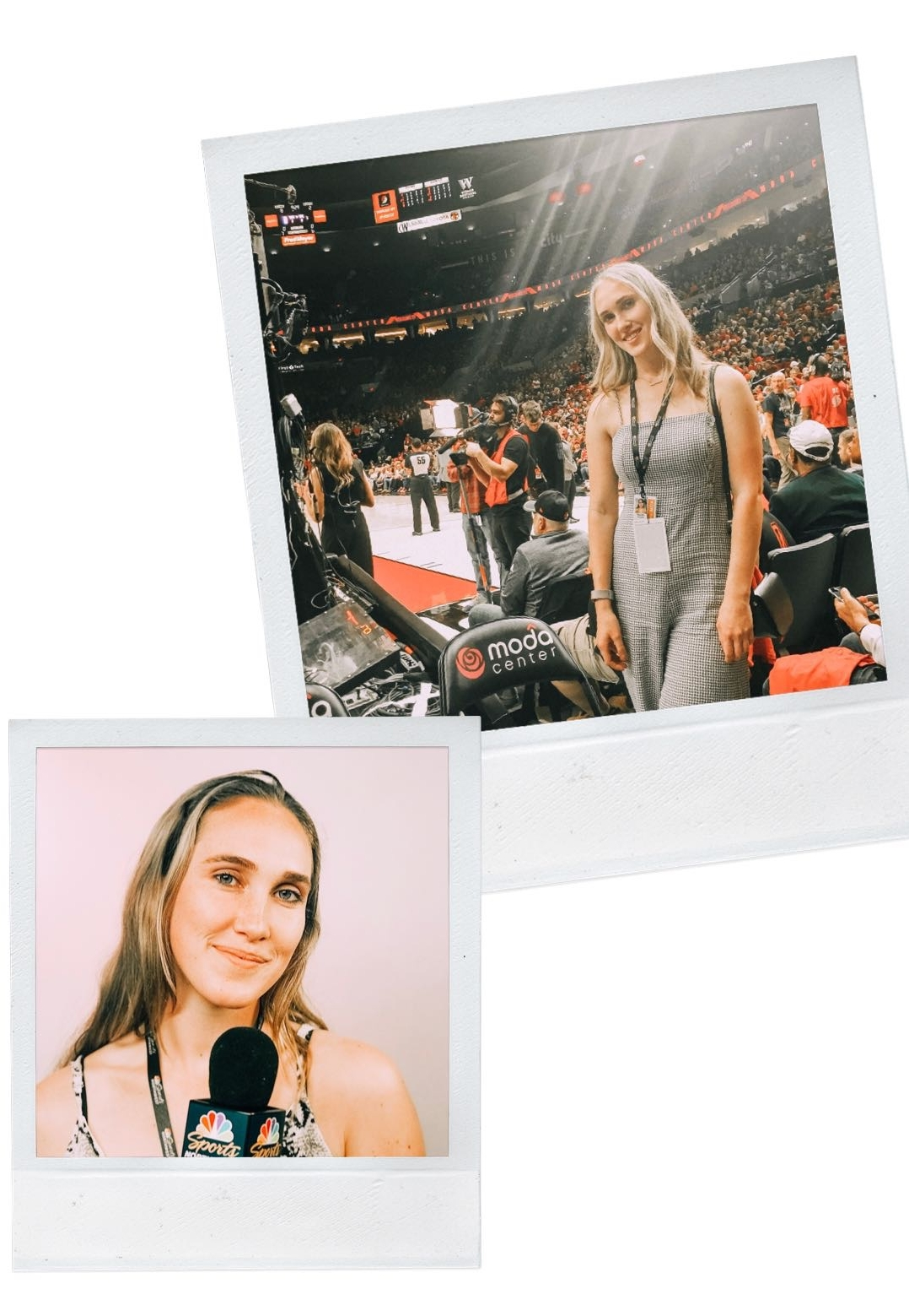 #girlboss - Like I mentioned at the beginning of this post, I've been interning at NBC sports in the marketing department. These two photos are from work events; the top photo is from a basketball game and the bottom is from when I helped conduct interviews at a fan event. I have had the best experience interning so far and I can't wait for what's in store! Keep your eyes peeled for more intern related posts soon!!