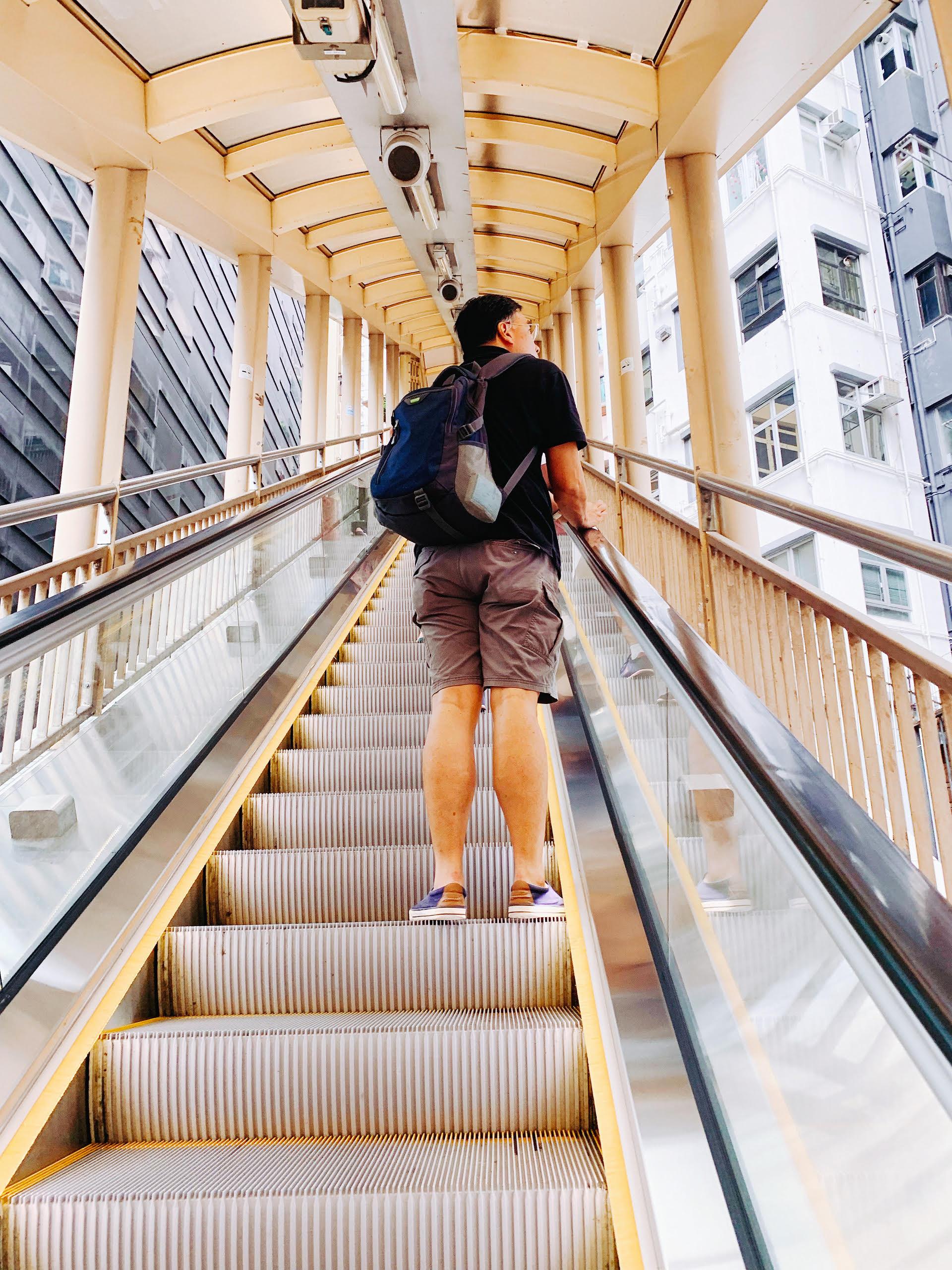 Mid Levels Escalator