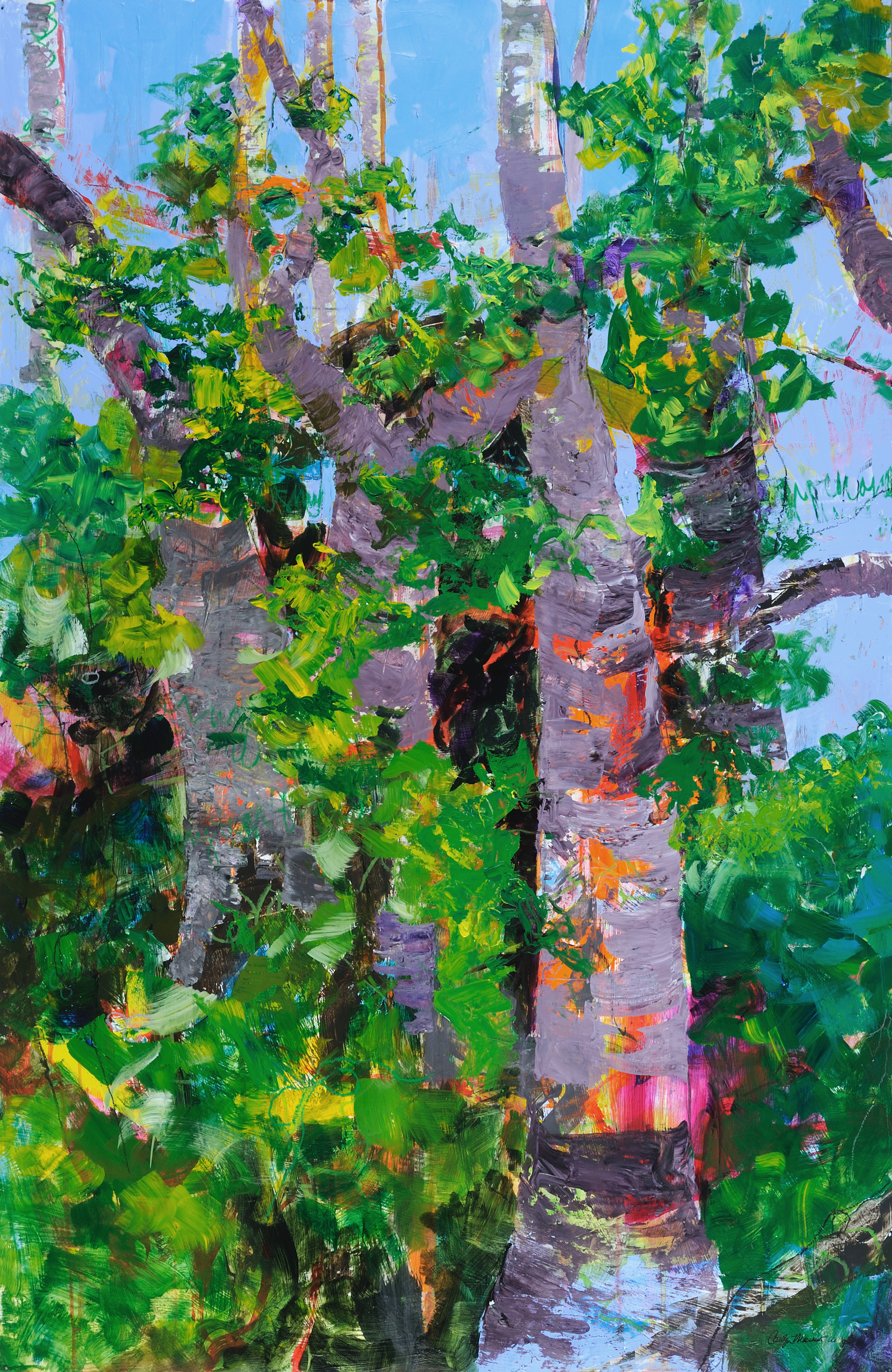 Tree Triptych One