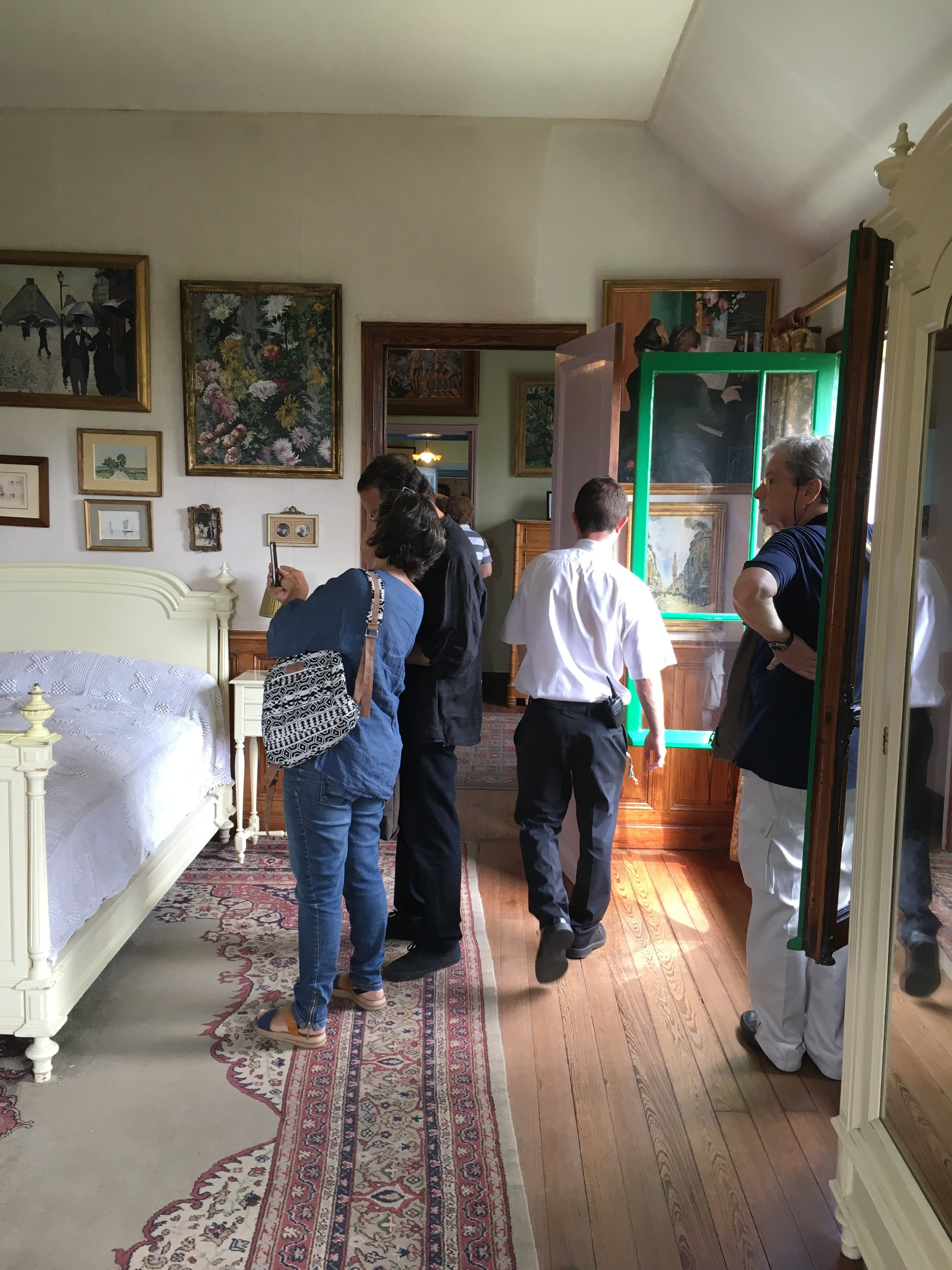 The inside of Monet's house is as popular as the gardens.