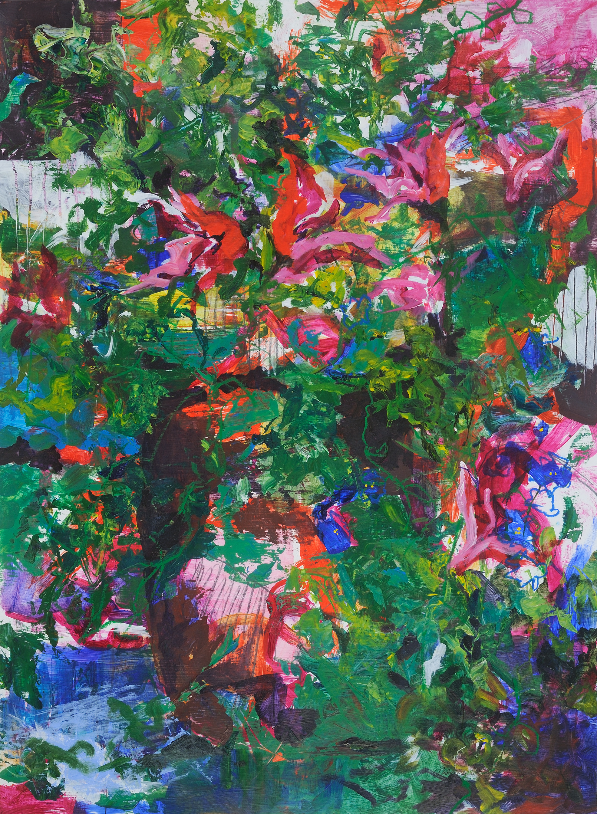 """Beyond the Picket Fence (28"""" x 36"""")"""