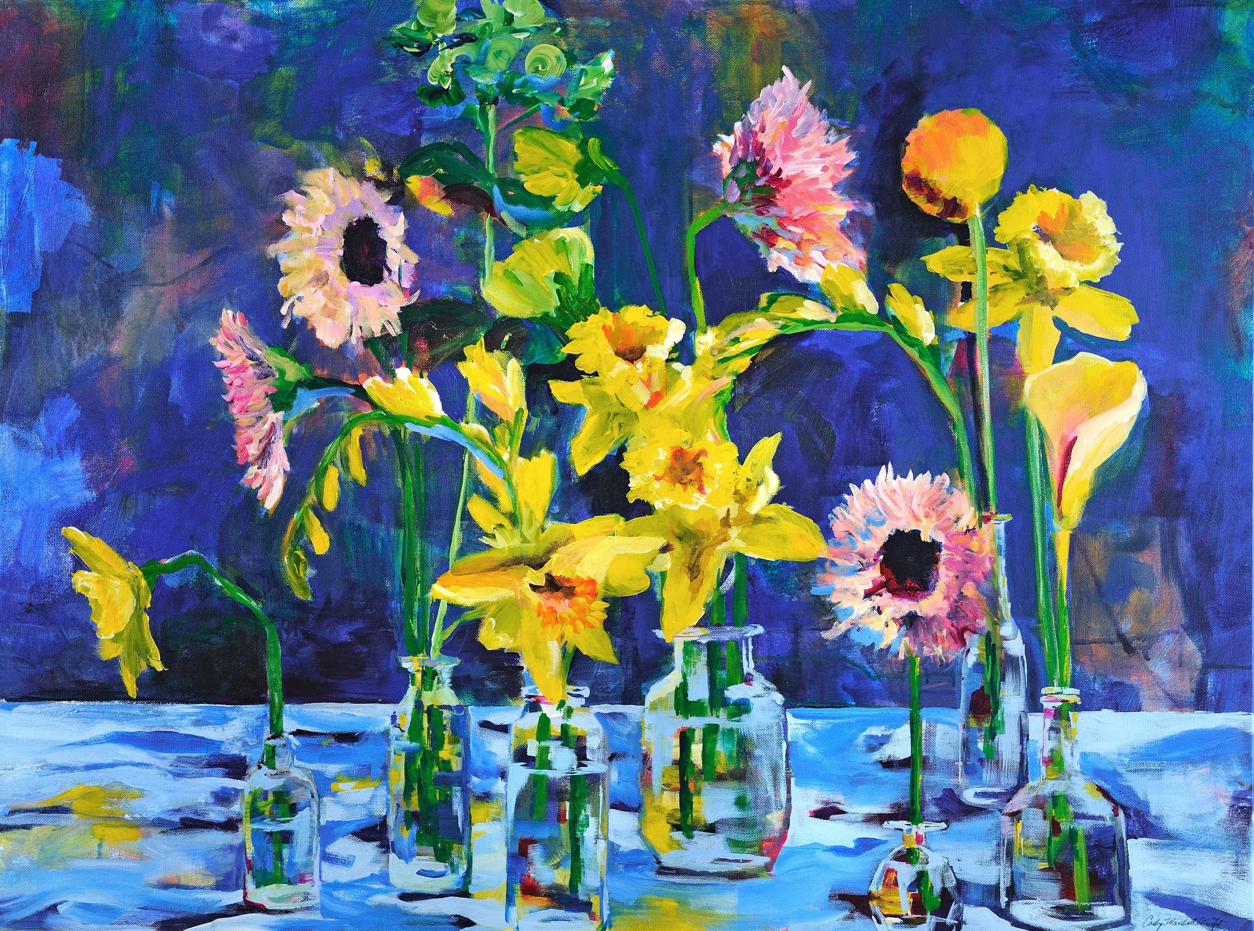 """Consider the Lily (48"""" x 24"""")"""
