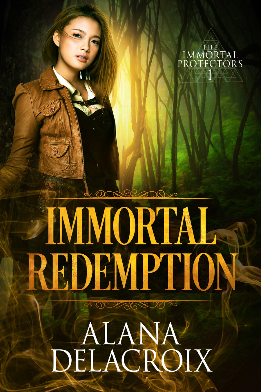 Cover for Immortal Redemption