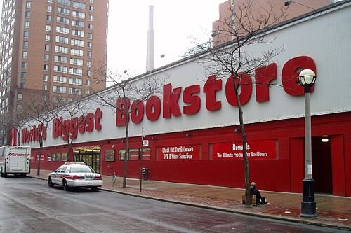 World's Biggest Bookstore, image from  Wikipedia