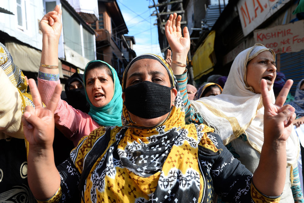 IN THE SHADE OF FALLEN CHINAR: THE ART OF RESISTANCE IN MODERN DAY KASHMIR - Nooreen Reza for OUTSIDER