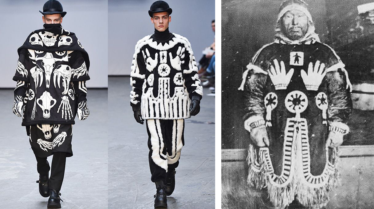 KTZ F/W 2016 / Sacred traditions of the Inuit culture// SRC