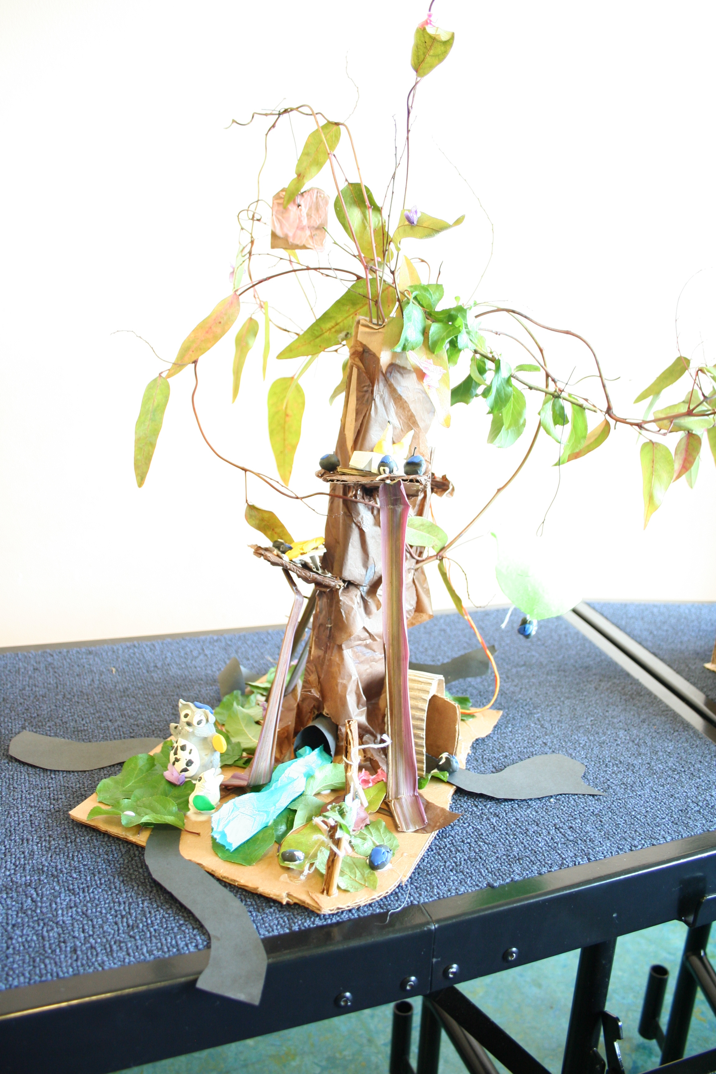 Ruth and Sara: A tree of Torah, with many doorways and access points in. There's even a person parachuting in!