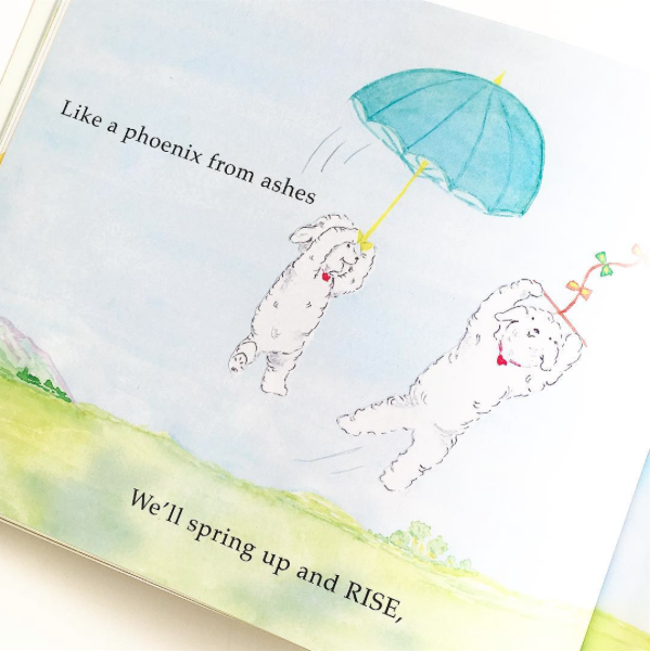 _ - Rise like a Phoenix! Our little friends in Bouncing Bouncing Back teach both children and adults alike that there is always a way to bounce back, stronger and better than ever! Pop over to our website to learn more about the message behind this powerful little story book.