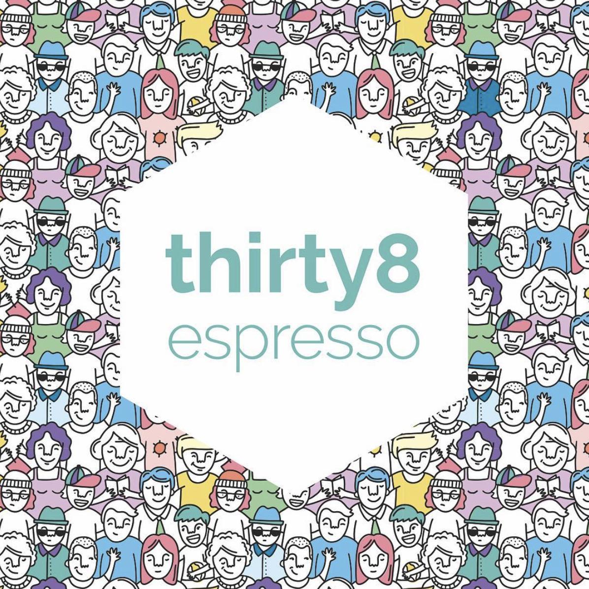38 Espresso - Logo refreshSeasonal menusSocial mediaPosters