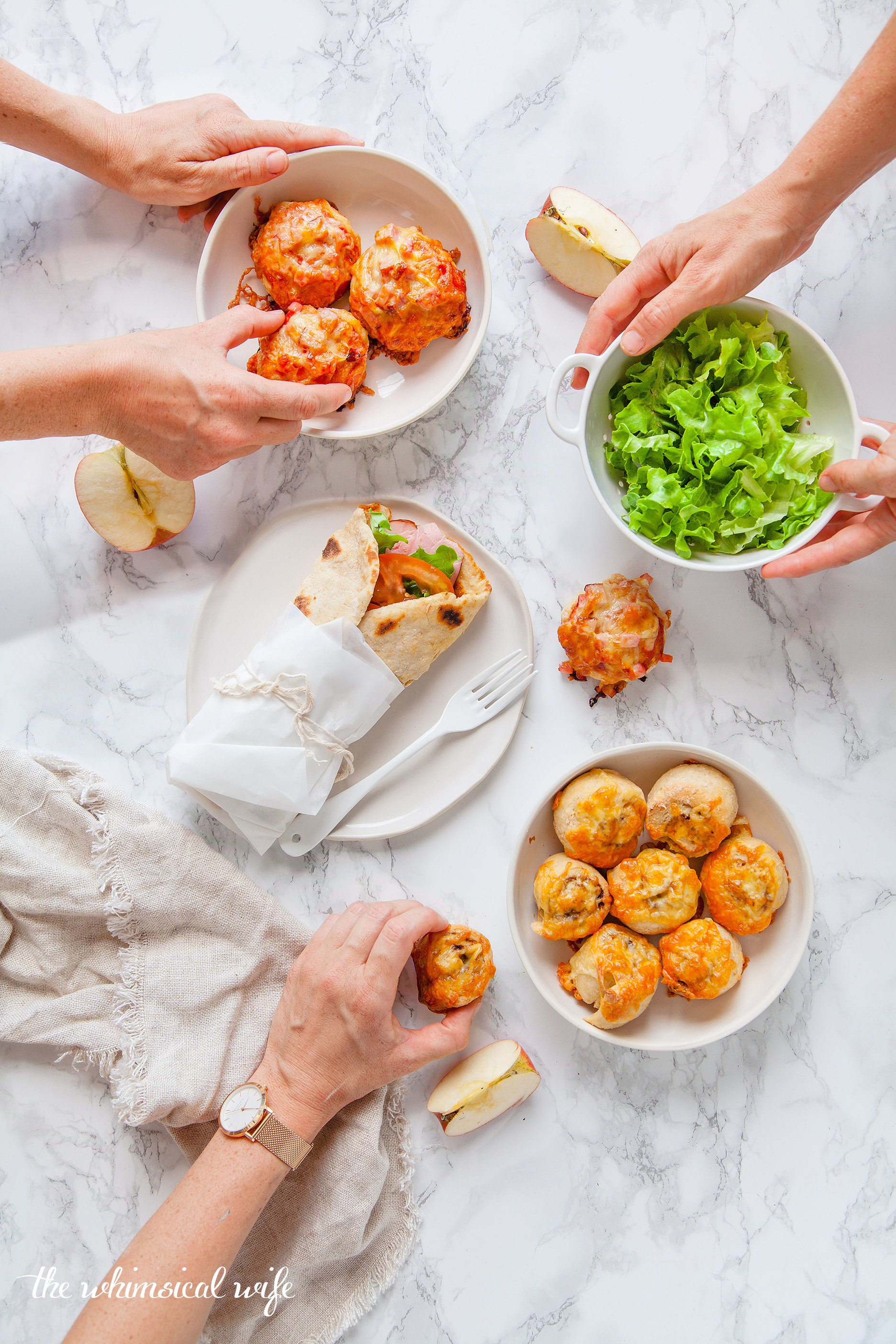 Two Ingredient Dough - 3 Ways   The Whimsical Wife