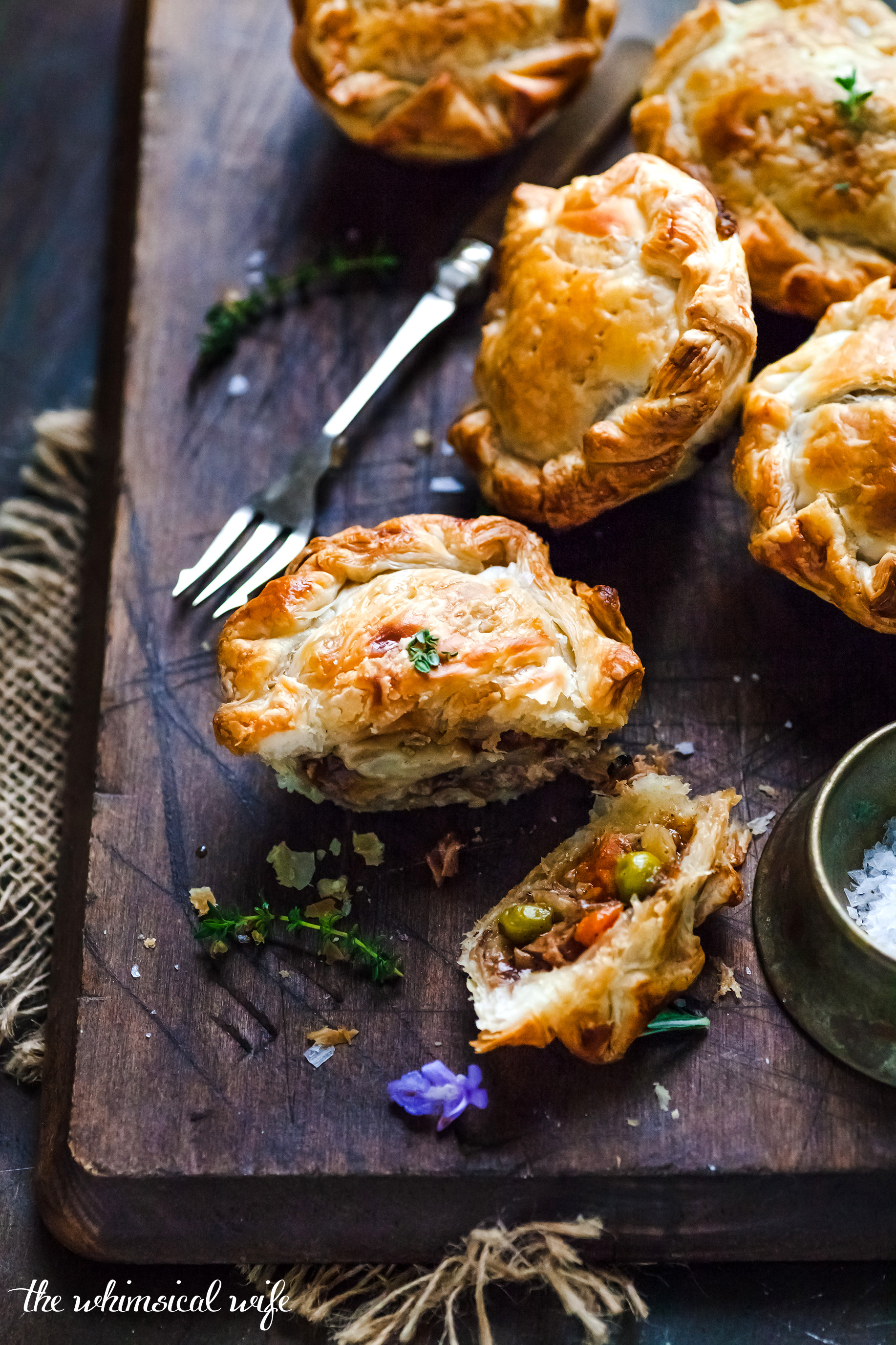 Best Homemade Mini Meat Pie Video The Whimsical Wife Cook Create Decorate