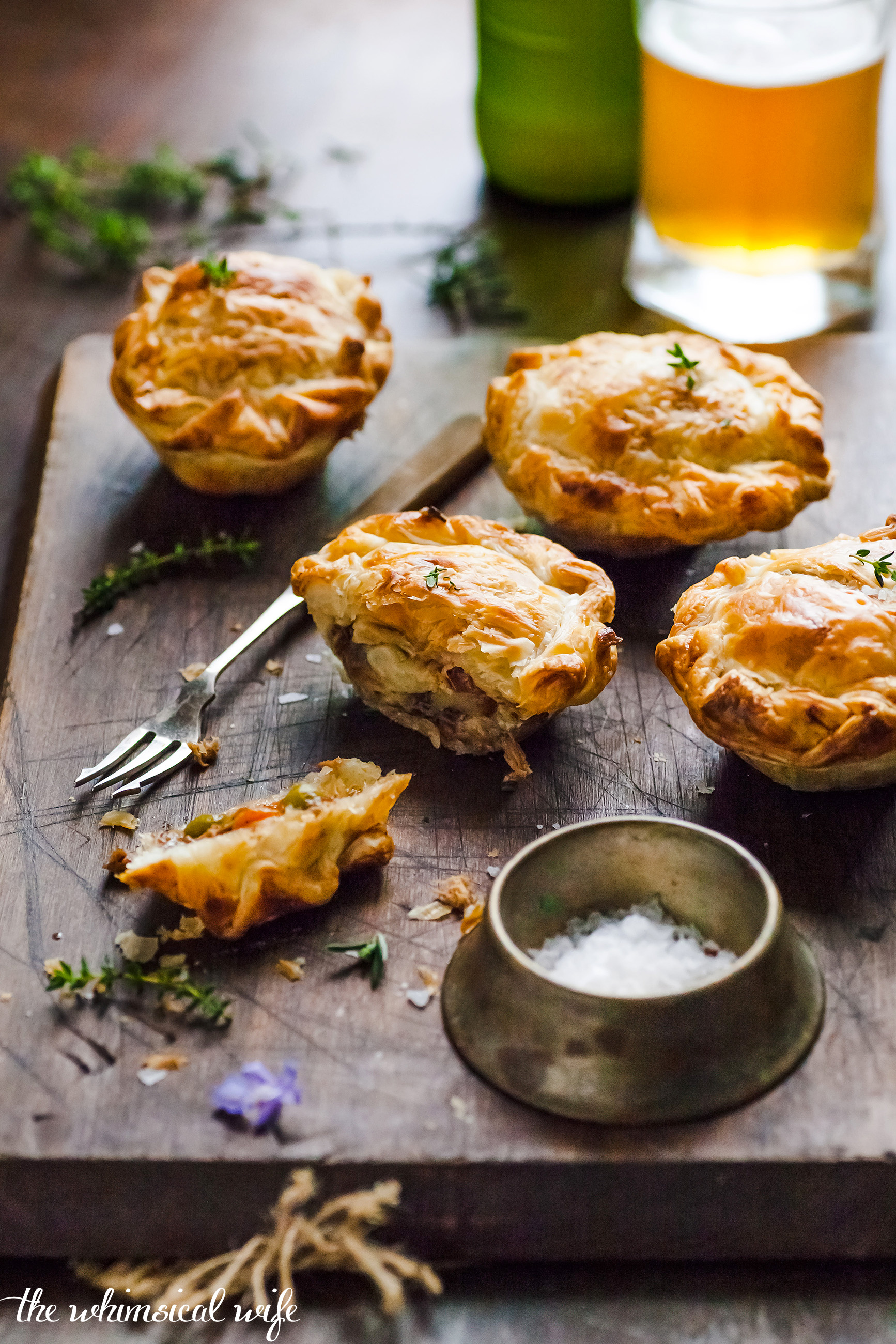 Best Homemade Mini Meat Pie | The Whimsical Wife