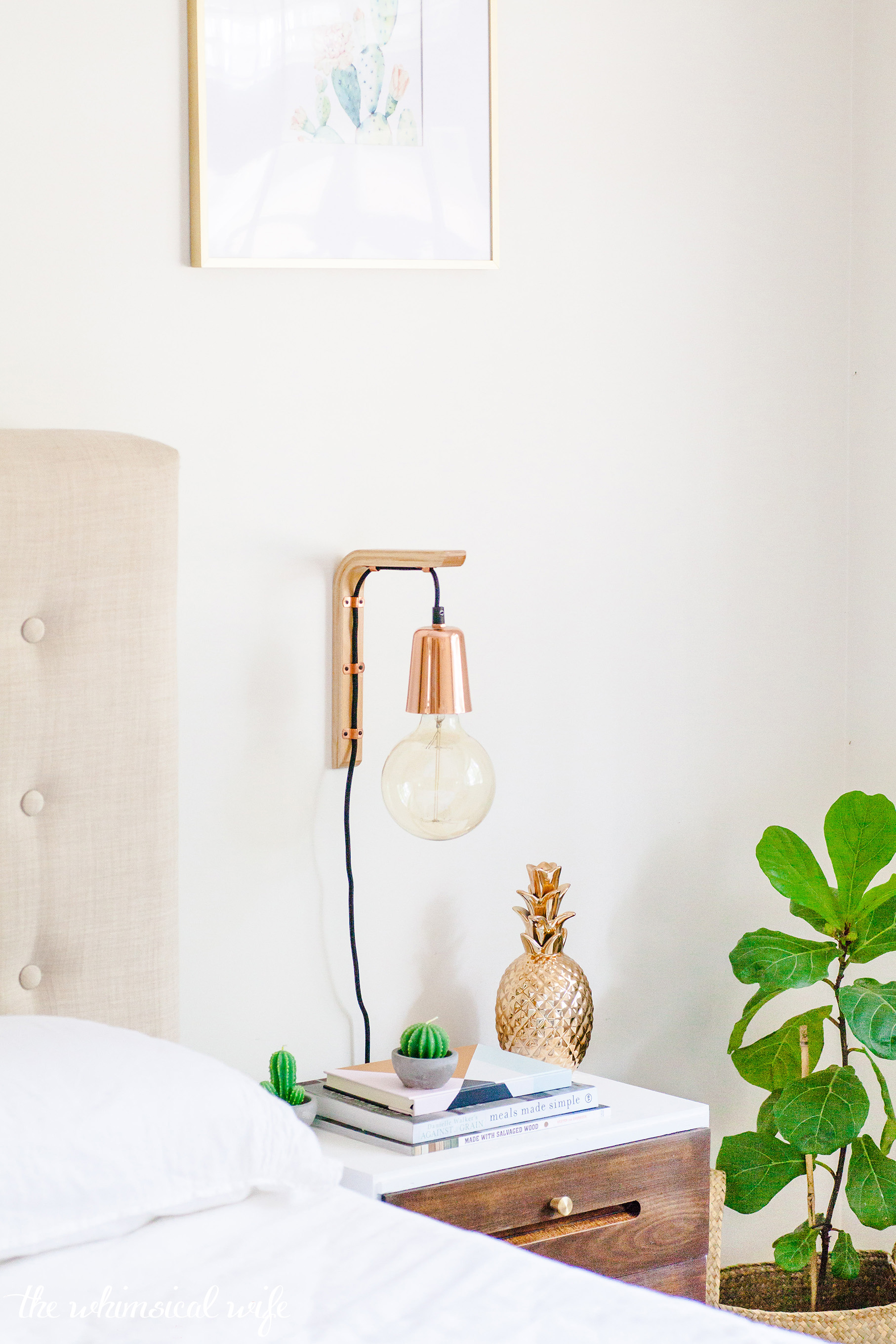 How To Make A Modern Hanging Wooden Wall Bracket Light The